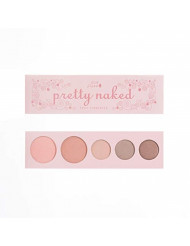 100% PURE Pretty Naked Palette (Fruit Pigmented), Everyday Makeup Palette w/ 3 Eyeshadows, Blush, Face Highlighter, Natural Makeup Look, Vegan Makeup (Soft, Neutral Tones)