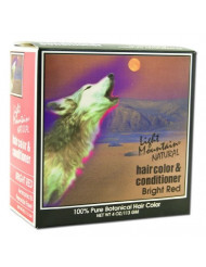 Light Mountain, Hair Color Bright Red, 4 Ounce