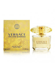 Versace Yellow Diamond Eau De Toilette Spray for Women, 1.7 Fl Oz