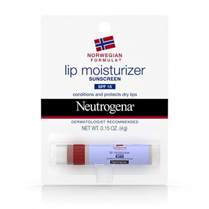 Neutrogena Norwegian Formula Lip Moisturizer With Sunscreen, Spf 15 0.15 oz