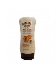 Hawaiian Tropic Sunscreen Silk Hydration Moisturizing Broad Spectrum Sun Care Sunscreen Lotion - SPF 30, 6 Ounce