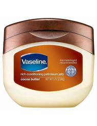 Vaseline Petroleum Jelly 7.5 Ounce Cocoa Butter (221ml) (6 Pack)