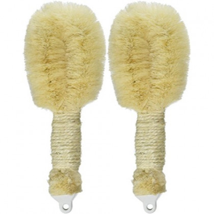 Earth Therapeutics Purest Palm Body Brush, 2 Count