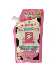 A Bonne Spa Milk Salt Moisturizes Whitens and Softens Skin 350g