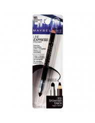 Maybelline New York Line Express Eyeliner, Brownish Black [905] 0.035 oz (Pack of 2)