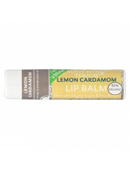 Soothing Touch Lemon Cardamom Vegan Lip Balm , .25 oz (85% Organic) (Case of 12)