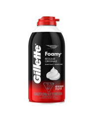 Gillette Foamy Regular Shaving Cream 11 oz (Pack of 6)
