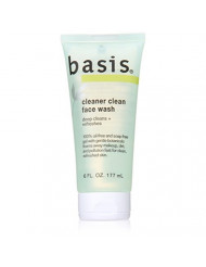 Basis Cleaner Clean Face Wash, 6 Count
