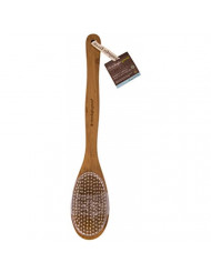 Cleanlogic Bamboo Handle Bristle Bath Brush