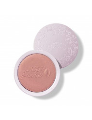 100% PURE Powder Blush (Fruit Pigmented), Healthy, Soft Shimmery Finish, Nourishes Skin w/Rosehip Oil, Cocoa Butter, Natural Makeup (Coral Bronze) - 1.81 oz