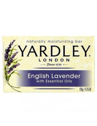 Yardley London Moisturizing Bar English Lavender with Essential Oils 4.25 oz (Pack of 24)