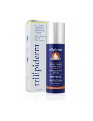 Trilipiderm Moisturizing Sunblock 8oz All Day Hydration for Body and Face, Vitamin D Enriched Broad Spectrum Sunscreen
