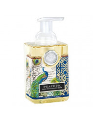 Michel Design Works Foaming Hand Soap, 17.8-Ounce, Peacock