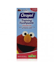 Orajel Toddler Training Toothpaste Berry Fun 1.50 oz (Pack of 3)