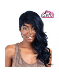 ISIS Red Carpet Premium Synthetic Full Wig - RCP145 RIHANNA ROCK (# 1 - Jet Black) by ISIS HAIR