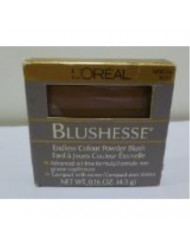 L'oreal Blushesse Endless Colour Powder Blush .16 Oz - Mocha Rose