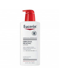 Eucerin Original Healing Lotion - Fragrance Free, Rich Lotion for Extremely Dry Skin - 16.9 fl. oz. Pump Bottle