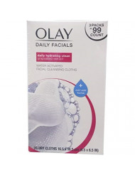 Olay  4-in-1 Daily Facial Cloths Wipes for Pink - Normal Skin 99 Cloths