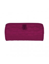 Travelon Jewelry and Cosmetic Clutch, Berry Quilted, One Size