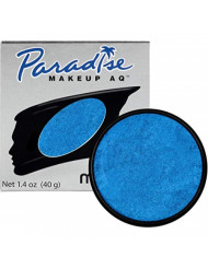 Mehron Makeup Paradise Makeup AQ Face & Body Paint (1.4 oz) (Brillant Azur Dark Blue)