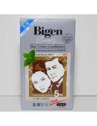 Dark Brown 883 - Bigen Speedy Hair Color Conditioner