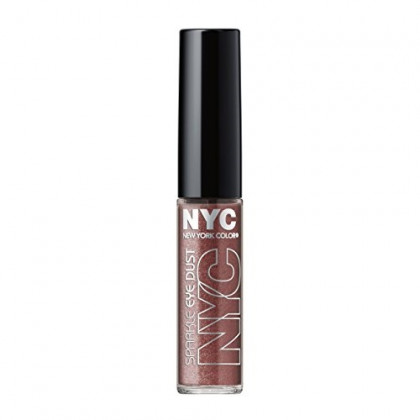 N.Y.C. New York Color Sparkle Eye Dust, Smokey Topaz, 0.105 Ounce