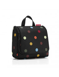 reisenthel Toiletbag, Compact Hanging Travel Toiletry Organizer, Dots