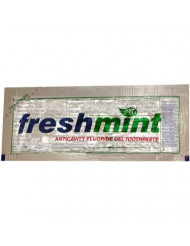 Wholesale Freshmint Clear Gel Toothpaste-packet 500 / CS(500x$0.12)