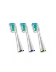 Waterpik Sensonic Complete Care Standard Brush Heads, Replacement Tooth Brush Heads, SRRB-3W, 3 Count
