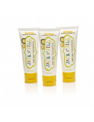 Jack N' Jill Natural Toothpaste Organic 50g, Set of 3 - Banana