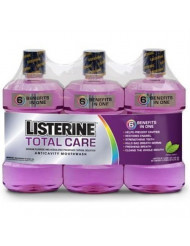 Listerine Total Care Mouthwash - Fresh Mint - 3 pk.