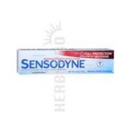 Sensodyne Full Prot Size 4 Oz Sensodyne Full Protection Plus Whitening Toothpaste