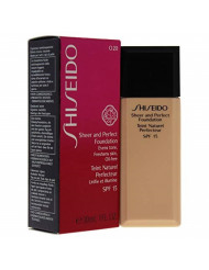 Shiseido Sheer and Perfect Foundation SPF 15, No. O20 Natural Light, 1 Ounce