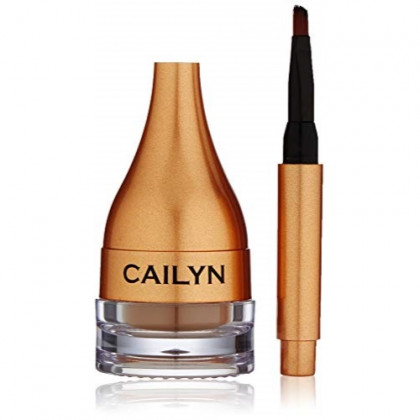 Cailyn Cosmetics Gelux Eyebrow, Nutmeg, 0.12 Ounce