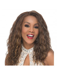 Vivica A. Fox ORLANDO-V Lace Front Wig, New Futura Synthetic Fiber in Color 2
