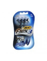 Bic Flex 3 Men'S 4ct Size 4ct Bic Flex 3 Men'S 4ct pack of 6