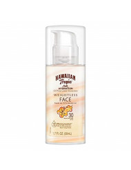 Hawaiian Tropic Silk Hydration Weightless Sunscreen Face Lotion, Broad-Spectrum Protection, SPF 30, 1.7 Ounces