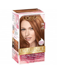 L'Oreal Paris Excellence Creme Triple Protection Color 7R Red Penny 1ea ( Packs of 3)