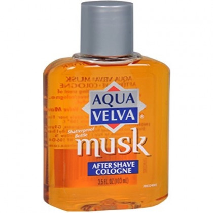Aqua Velva Musk After Shave Cologne 3.50 oz (Pack of 6)