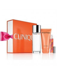 Clinique Perfectly Happy Set Happy Perfume Spray, Happy Body Cream,happy Perfume Rollerball