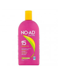 No-Ad Spf#15 Sunscreen Lotion 16 Ounce (473ml) (3 Pack)