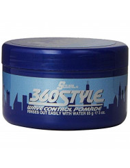 Lusters S-Curl 360 Wave Control Pomade 3 Ounce (88ml) (3 Pack)
