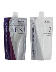 Shiseido Crystallizing Straight Express Processing for Healthy Hair EX1+2