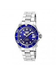 Invicta Men's 17040 Pro Diver Analog Display Japanese Automatic Silver-Tone Watch