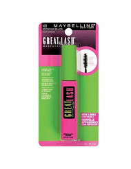 Maybelline Great Lash Washable Mascara, Brownish Black [102], 0.43 oz (Pack of 2)