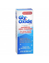 Gly-Oxide Liquid Antiseptic Oral Cleanser 2 oz (Pack of 4)