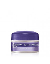 Avon Anew Platinum Day Cream Set of 2 Travel Size .5 Ounce Each