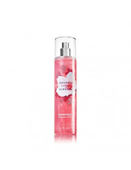 Bath and Body Works Diamond Shimmer Mist, Japanese Cherry Blossom, 8.0 Fl Oz