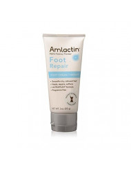 AMLACTIN Foot Cream Therapy 3 oz (Pack of 4)