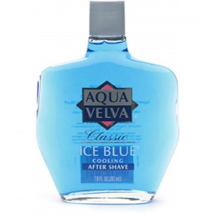 Aqua Velva Cooling After Shave, Classic Ice Blue 7 oz (Pack of 6)